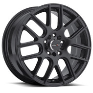 VISION Cross 426 16X7 Matte Black Wheels Rims 5x108 5x4.5 (5x114.3) 38 | 426H6714MB38
