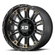 XD Series Hoss 2 XD829 18x9 Black Dark Tint Wheels Rims 8x180 18 | XD82989088918