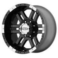"Moto Metal MO951 Wheels 16X9 8X6.5"" ( 8X165.1 ) Black -12 