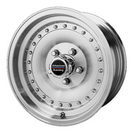 "American Racing Outlaw I Wheels 15X8 5X4.5"" ( 5X114.3 ) Machined -19 