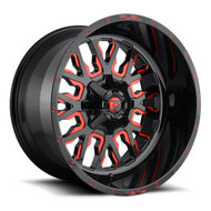 Fuel ® Stroke D612 Wheels Rims Gloss Red 22x12 5x5.5 (5x139.7) 5x150 -44 | D61222207047