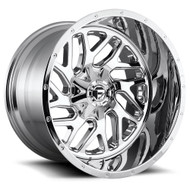 Fuel ® Triton (2 Piece) D210 Wheels Rims Chrome 22x14 8x6.5 (8x165.1) -70 | D21022408247