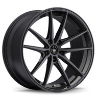 Konig ® Oversteer 37B Wheels Rims Gloss Black 19X8.5 5x4.5 (5x114.3) 42 | 37B-OS98508425