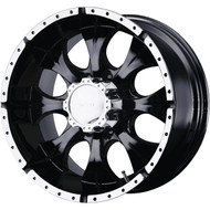 "HELO ® Maxx HE791 Wheels 16X8 6X5.5"" ( 6X139.7 ) Black +0 