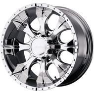 "HELO Maxx Wheel 16x8 6x5.5"" ( 6x139.7 ) Chrome 0mm Offset - IN CART DISCOUNT!"