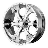 "HELO Maxx HE791 Wheels 17X9 8X6.5"" ( 8X165.1 ) Chrome -12 