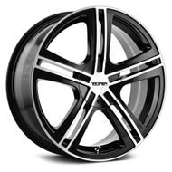 Touren ® TR62 Wheels Rims Black Machined 16x7 5x112 5x120 40 | 3262-6709B