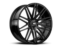 Xo Luxury ® Milan X229 Wheels Rims Matte Black 21X10.5 5x130 42 | 2105MIL425130M71