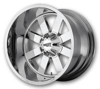"Moto Metal MO962 Wheels 18X10 5X127 & 5X5.5"" ( 5X139.7 ) Chrome -24 