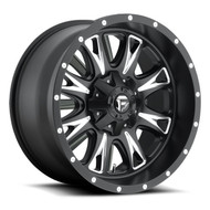 "FUEL THROTTLE D513 WHEELS 17X9 8X6.5"" ( 8X165.1 ) -12MM BLACK 
