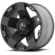 XD Rockstar Wheels XD775 20X10 Black Wheel Blank -24 | XD77521000324