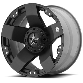 XD Rockstar Wheels XD775 17X8 Black Wheel Blank 10 | XD77578000310