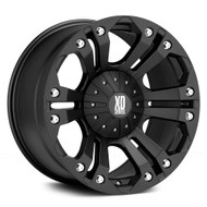 "XD Monster Wheels XD778 20X10 6X135 & 6X5.5"" ( 6X139.7 ) Black -12 
