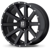 "XD Heist Wheels XD818 16X8 6X4.5"" ( 6X114.3 ) Black 10 