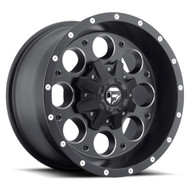 "FUEL REVOLVER D525 WHEELS 15X10 5X5.5"" ( 5X139.7 ) -43MM BLACK 