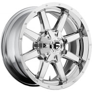 "FUEL MAVERICK D536 WHEELS 17X9 8X6.5"" ( 8X165.1 ) -12MM CHROME 