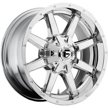 "FUEL MAVERICK D536 WHEELS 18X9 6X135 & 6X5.5"" ( 6X139.7 ) 01MM CHROME 