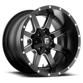 FUEL MAVERICK D538 WHEELS 20X12 8X180 -44MM BLACK | D53820201847
