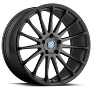 Beyern Aviatic Wheel Gunmetal W/ Gloss Black Lip 18x8.5 5x120 15mm