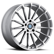 Beyern Aviatic 20x10 5x120 Silver 25 Wheels Rims | 2010BYA255120S74
