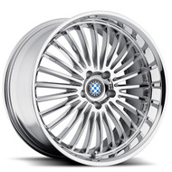 Beyern Multi 19x8.5 5x120 Chrome 15 Wheels Rims | 1985BYT155120C74