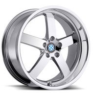 Beyern Rapp 19x8.5 5x120 Chrome 30 Wheels Rims | 1985BYR305120C72