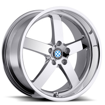 Beyern Rapp 19x8.5 5x120 Chrome 40 Wheels Rims | 1985BYR405120C72