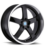 Beyern Rapp 19x9.5 5x120 Gloss Black 45 Wheels Rims | 1995BYR455120B72