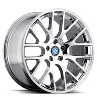 Beyern Spartan 18x8.5 5x120 Chrome 40 Wheels Rims | 1885BYS405120C72