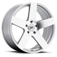 Black Rhino Everest 22x9.5 5x5.5 5x139.7 Silver 20 Wheels Rims | 2295EVE205140S78