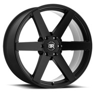 Black Rhino Karoo 24x10 6x5.5 6x139.7 Matte Black 20 Wheels Rims | 2410KAR206140M12