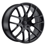 Black Rhino Kunene 24x10 6x5.5 6x139.7 Gloss Black 12 Wheels Rims | 2410KUN256140B12