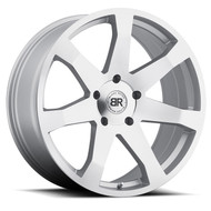 Black Rhino Mozambique 20x8.5 5x120 Silver 35 Wheels Rims | 2085MZA355120S76