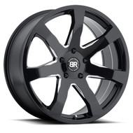 Black Rhino Mozambique 20x8.5 5x127 5x5 Gloss Black 30 Wheels Rims | 2085MZA305127B71
