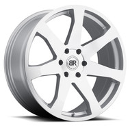 Black Rhino Mozambique 20x8.5 6x5.5 6x139.7 Silver 45 Wheels Rims | 2085MZA456140S12