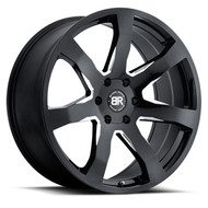Black Rhino Mozambique 24x10 6x135 Gloss Black 35 Wheels Rims | 2410MZA356135B87