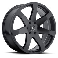 Black Rhino Mozambique 24x10 6x5.5 6x139.7 Matte Black 25 Wheels Rims | 2410MZA256140M12