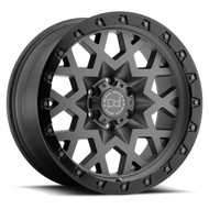 Black Rhino Sprocket 17x9.5 6x5.5 6x139.7 Gunmetal -18 Wheels Rims | 1795SPK-86140G12