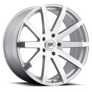 Black Rhino Traverse 22x9.5 5x5.5 5x139.7 Silver 20 Wheels Rims | 2295TRV205140S78