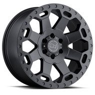 Black Rhino Warlord 17x9 8x180 Gunmetal -12 Wheels Rims | 1790WAR-28180G25