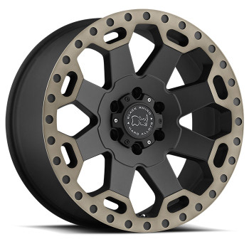 Black Rhino Warlord 18x8 6x130 Matte Black 52 Wheels Rims | 1880WAR526130M84