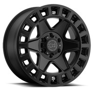 Black Rhino York 18x8 6x130 Matte Black 52 Wheels Rims | 1880YRK526130M84