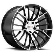 Cray Astoria 18x9.5 5x4.75 5x120.65 Gloss Black 56 Wheels Rims | 1895CRT565121B70
