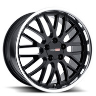 Cray Manta 18x9 5x4.75 5x120.65 Black Mirror Lip 50 Wheels Rims | 1890CMA505121B70