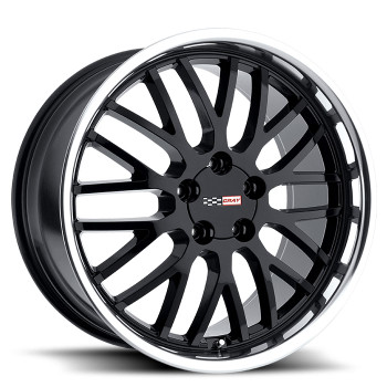 Cray Manta 19x10.5 5x4.75 5x120.65 Black Mirror Lip 65 Wheels Rims | 1905CMA655121B70