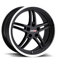 Cray Scorpion 18x9 5x4.75 5x120.65 Black Mirror Lip 50 Wheels Rims | 1890CRS505121B70
