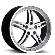 Cray Scorpion 18x9 5x4.75 5x120.65 Silver 50 Wheels Rims | 1890CRS505121S70