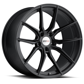 Cray Spider 18x9 5x4.75 5x120.65 Matte Black 50 Wheels Rims | 1890CRD505121M70
