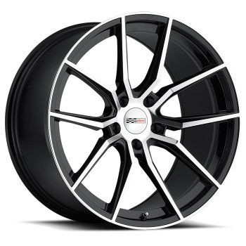 Cray Spider 18x9.5 5x4.75 5x120.65 Gloss Black 56 Wheels Rims | 1895CRD565121B70