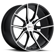 Cray Spider 19x9 5x4.75 5x120.65 Gloss Black 50 Wheels Rims | 1990CRD505121B70